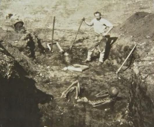 Riesen Skelett Menschen Entdeckten Riesen-skelette