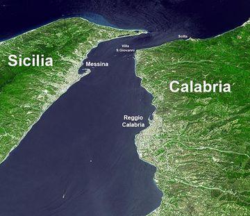 Meerenge Von Gibraltar Karte.Strasse Von Messina Atlantisforschung